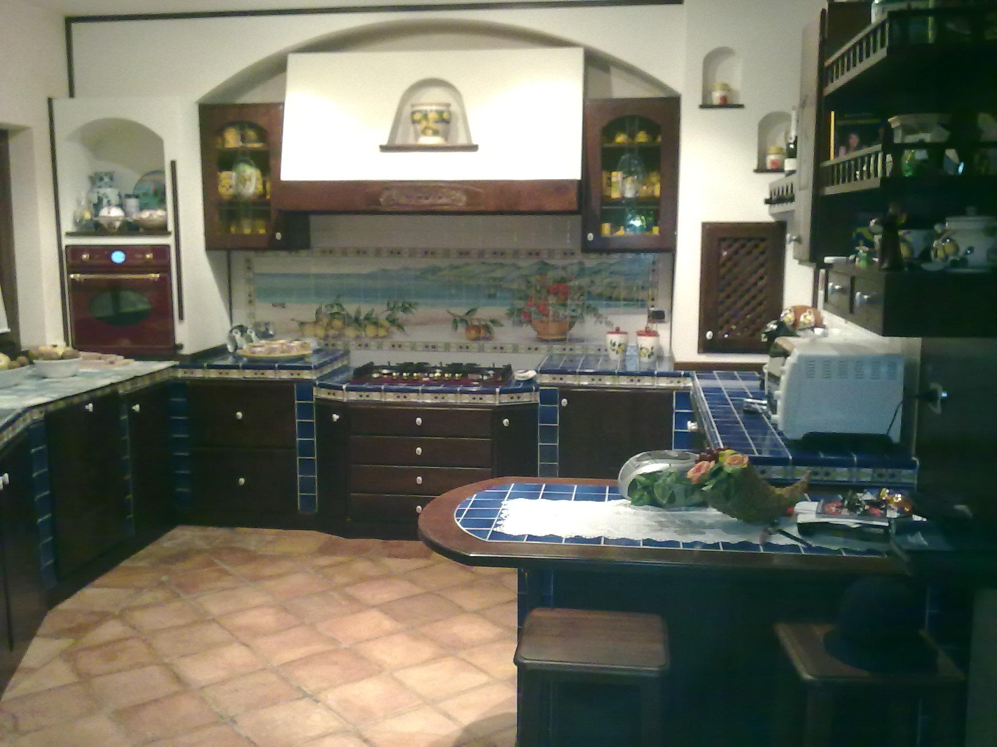 Cucine rustiche - Piastrelle taverna ...