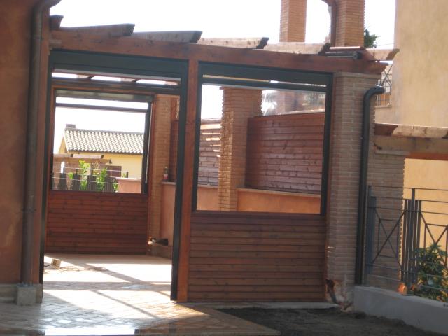 Fratelli erbo tende da sole roma pergotende corradi - Idee per chiudere un terrazzo ...