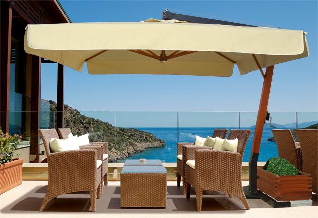 Best ombrelloni da terrazzo rettangolari contemporary idee